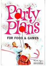 Swift Party Plans For Food & Games Booklet 1970~Collectibles~Free Shipping!