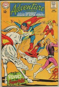 Adventure Comics 364 Fine+ Dc Comics *SA