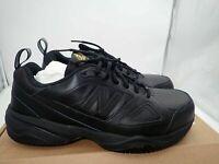 New Balance MID627B2 Men's Steel Toe 627v2 Leather Black Sneaker Work Shoes