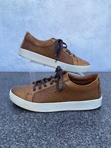 Allen Edmonds Brown Vibram sole sneakers shoes Men's size 12 D