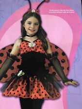 New Leg Avenue Jr. Daisy Bug Teen Costume Halloween Ladybug Size Tween S