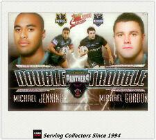 2009 Select NRL Classic Double Trouble Acetate Card DT11 Jennings/Gordon-Rare