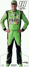KYLE BUSCH #18 (M&M's) 2015 NASCAR Life Size Standup/Standee/Cardboard FREE MINI