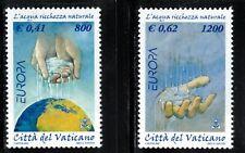 2001 Vatican Europa CEPT Water MNH