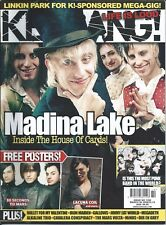 KERRANG! #1200 MAR 2008: LINKIN PARK Madina Lake ALKALINE TRIO Jimmy Eat World