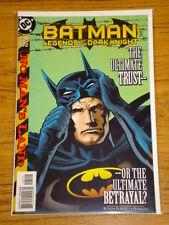 BATMAN LEGENDS OF THE DARK KNIGHT #125 VOL1 DC COMICS JANUARY 2000