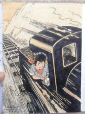 Wasterlain dédicace Hommage Hergé Tintin Docteur Poche EO 2000 Neuf