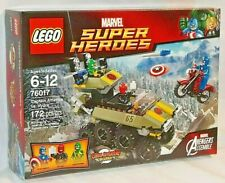 SEALED 76017 LEGO Marvel Super Heroes CAPTAIN AMERICA VS HYDRA Red Skull 172 pcs