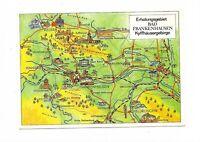 AK, BAD FRANKENHAUSEN, Thüringen, Kyffhäusergebirge, Karte