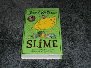 DAVID WALLIAMS: SLIME: UK SIGNED HARDCOVER