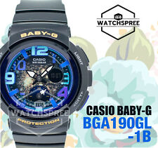 Casio Baby-G Beach Traveler Series Watch BGA190GL-1B AU FAST & FREE*