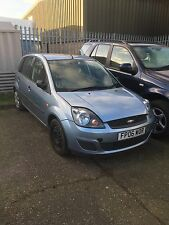 Ford Fiesta 2006 1.25 Duratec Engine Covered 63000 Miles