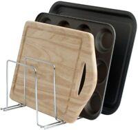 simplywire - Baking Tray & Chopping Board Rack - Pan Storage - Kitchen Cupboard