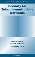 Security for Telecommunications Networks: By Patrick McDaniel, Thomas La Port...