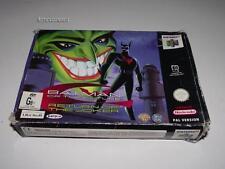 Batman of the Future Return of the Joker Nintendo 64 N64 Boxed PAL Preloved *NM