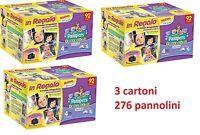 PAMPERS PROGRESSI 276  PANNOLINI 3 CARTONI DA 92 pz./cad TAGLIA 4 MAXI (7-18KG)