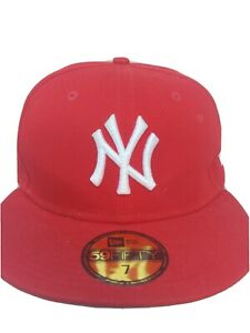 Pre Owned New York Yankees new era 59fifty mens fitted hat 7