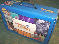HOOKED ON PHONICS Complete Set Levels 1 - 5  Learn to Read w/Books Homeschooling
