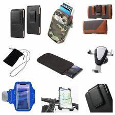 Accessories For Highscreen Alpha Gtr: Sock Bag Case Sleeve Belt Clip Holster .