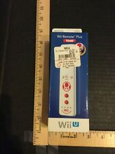 Nintendo Wii U Remote Plus Controller Official Toad Mario Brand New in Blue Box