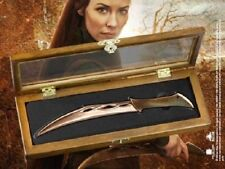 LOTR HOBBIT MIRKWOOD ELF TAURIEL DAGGER REPLICA KNIFE LETTER OPENER WOOD DISPLAY