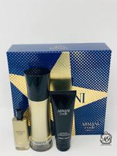Gift Set Armani Code Absolu 2Pc Edt Spray 3.7 oz + Edt Spray 0.5 oz for men