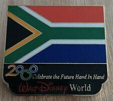 Millennium Village WDW Flag Pin South Africa Pavilion 2000 Disney Pin