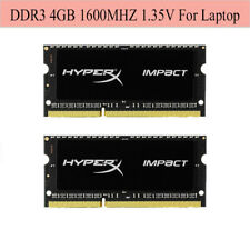 For Kingston HyperX Impact 4GB 8GB 16GB 1600MHz DDR3L PC3L-12800S Laptop RAM Lot