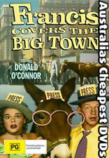 Francis Covers The Big Town DVD NEW, FREE POSTAGE WITHIN AUSTRALIA REGION 4