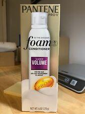 Pantene Pro-V Foam Conditioner SHEER VOLUME 6 OZ size, New in Box