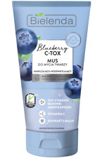 Bielenda Blueberry C Tox Face Wash Mousse Dry and Dehydrated Skin 135g