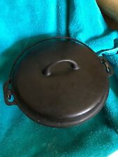 Antique GRISWOLD #8 IRON MOUNTAIN 1036 Cast Iron Dutch Oven & 1037 Lid FREE SHIP