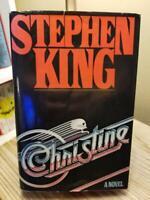 Christine by Stephen King 1983 RARE TRUE 1st Edition 1st Printing HB DJ VGC!!