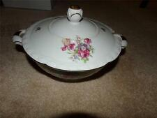 Edelstein Bavaria FRUENLOB TUREEN 156 35 16 STAMPED INSIDE LID AND BASE GERMAN