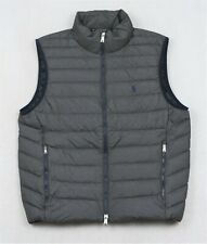 Polo Ralph Lauren Puffer Packable Down Vest Grey Heather XL NWT $188