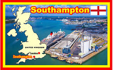 SOUTHAMPTON, HAMPSHIRE - SOUVENIR NOVELTY FRIDGE MAGNET - NEW - GIFT / XMAS
