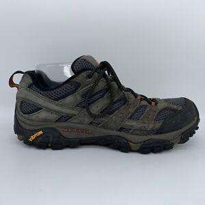 Merrell Moab 2 Waterproof Beluga J06029 Gray Brown Hiking Shoe Sneaker Men 9 M