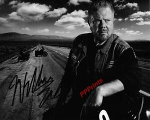 WILLIAM LUCKING SONS OF ANARCHY AUTOGRAPHED 10X8 SIGNED REPRO PHOTO PRINT