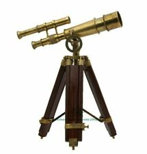 Vintage Antique Tripod Brass Telescope Brass Nautical Telescopes handmade design