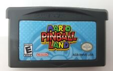 Mario Pinball Land (Nintendo Game Boy Advance, 2004) Free Ship in Canada (NTSC)
