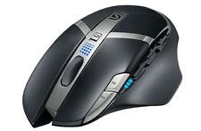 Logitech g602 Wireless gaming mouse ratón inalámbrico negro 2500 ppp * nuevo * embalaje original *