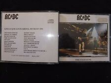 COFFRET 2 CD AC / DC / FIRE YOUR GUNS / LIVE AT DETROIT 1991 /