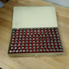 Vermont Gage .626 to .750 PLUS E Series Pin Gage Set - USED