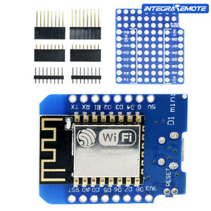 WeMos D1 ESP8266 ESP-12 NodeMcu Lua WIFI CH340G Development Board Antenna Mini