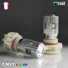 2 AMPOULE LED H16 PS19W 5202 CREE XTB 25W 6000K BLANC 12V FEUX ANTI BROUILLARD