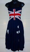 Funky Australian Flag dress, Australia Day, 26th Jan. limited Stock fits 16-24