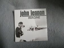 "RARE! CD PROMO NEUF ""JOHN LENNON : IMAGINE"" Mont Blanc"