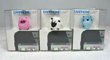 Universal Phone Anti Dust Plug Earphone Jack 3.5mm Cap Cat, Pig, or Sheep Charm