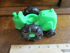 Fisher Price little people Farm Tractor Equipment Green engine toy part barn g