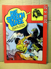 Die Sprechblase - Comic-Magazin Nr. 36 -  6.Jahrg.  Mai 1981